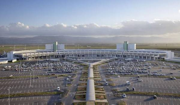 Aéroport international d'Alger.
