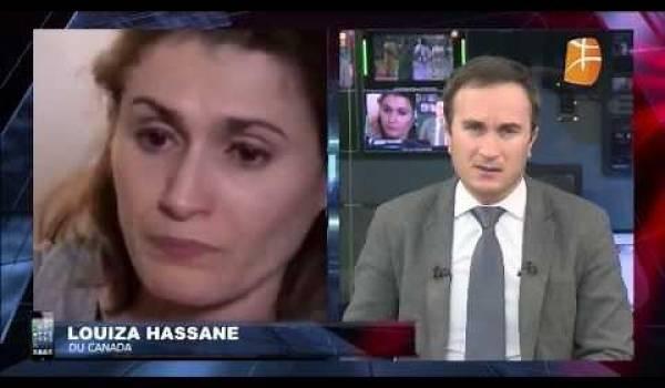 Courageux et poignant témoignage de Mme Hassane dont l'époux a été assassiné dimanche dernier dans une mosquée à Québec.