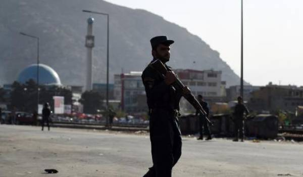 Les forces afghanes sont soutenues par les Américains.