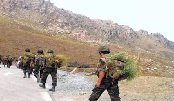 L'opération de l'ANP se poursuit actuellement dans la région d'El Adjiba.