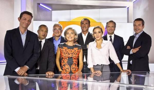 L'équipe de l'émission.