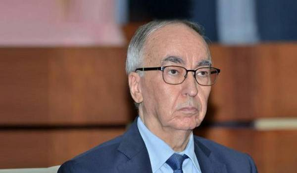 Le ministre des Finances, Hadji Baba Ammi.
