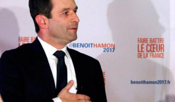 Benoît Hamon, le candidat du PS à la présidentielle