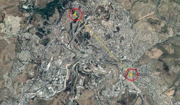 Les deux quartiers où ont eu lieu les attaques terroristes.
