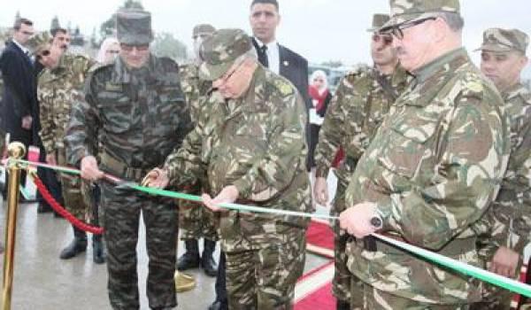 Le Général de Corps d'Armée Ahmed Gaïd Salah était hier à Contantine.