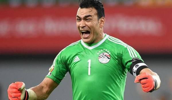 Le gardien, grand artisan de la qualification égyptienne en finale de la CAN.