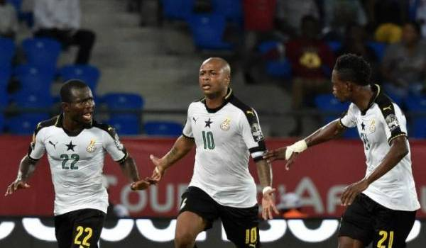 Les Black Stars vont affronter ce soir des Lions indomptables redoutables. Photo AFP