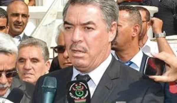 Tahar Hadjar, ministre de l'Enseignement supérieur.
