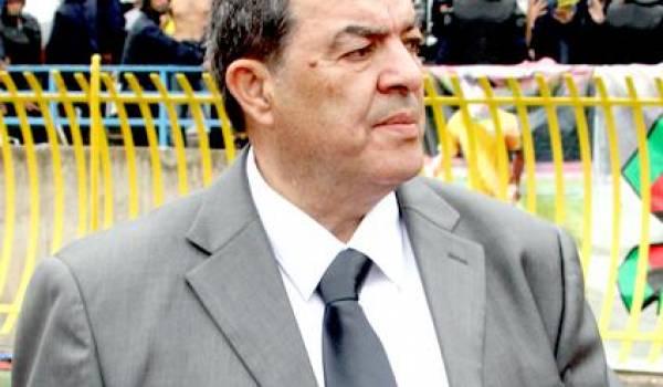 Ce n'est pas la première fois que Mohand Cherif Hannachi se trompe.