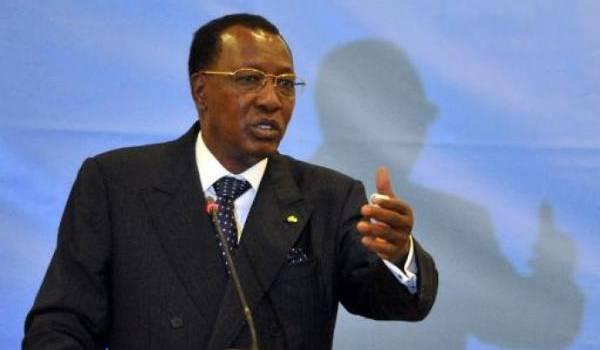 Idriss Déby, le potentat tchadien.