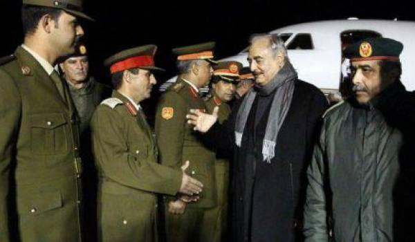 Le maréchal Haftar