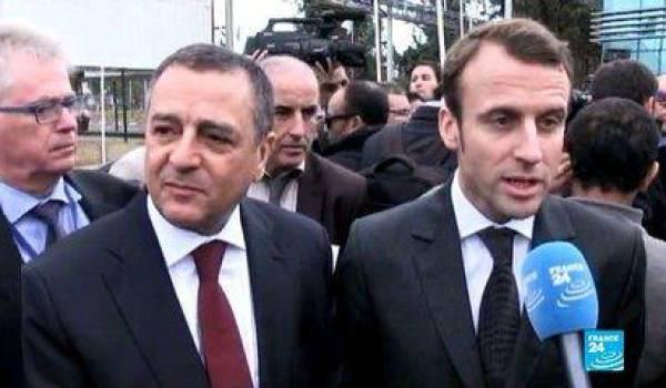 Bouchouareb avec Macron