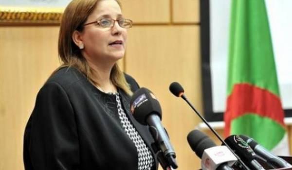 La ministre Mounia Meslem.