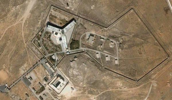 La prison de Saidnya, à 30km au nord de Damas.