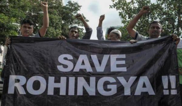 Le peuple des Rohingyas exterminé.