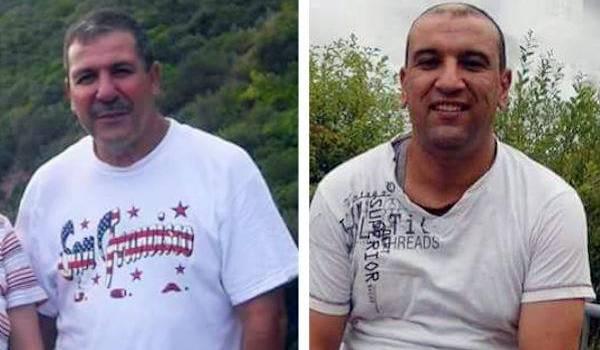Abdelkrim Hassane et Khaled Belkacemi.