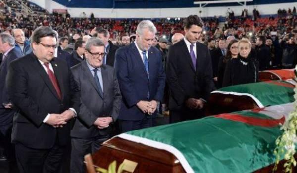 Les autorités canadiennes étaient présentes à la cérémonie d'hommage aux victimes de l'attentat.