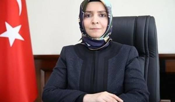 La ministre turque de la Famille, Fatma Betül Sayan Kaya.