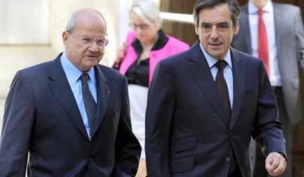 Le richissime Lacharrière et le candidat François Fillon