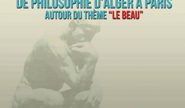 Journées Internationales de philosophie d'Alger à Paris avec Berbère Télévision