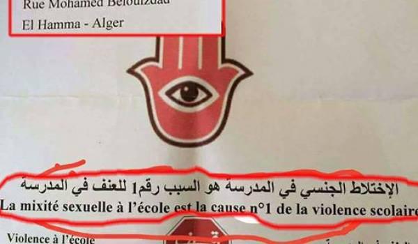 """Le """"Dr"""" Smaïl Boulbina met en cause à la B.N. la mixité dans la violence à l'école (vidéo)"""