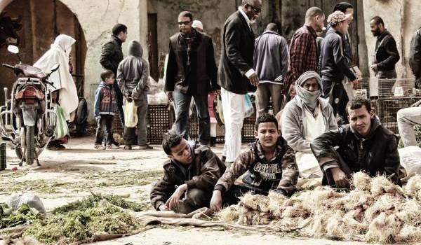 Marché algérien;