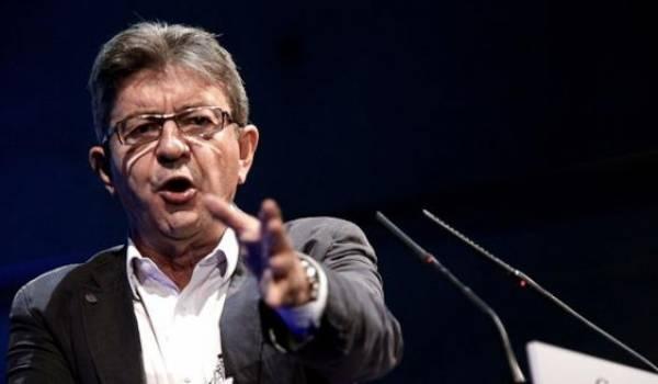 Jean-Luc Mélenchon, candidat à la présidentielle française.