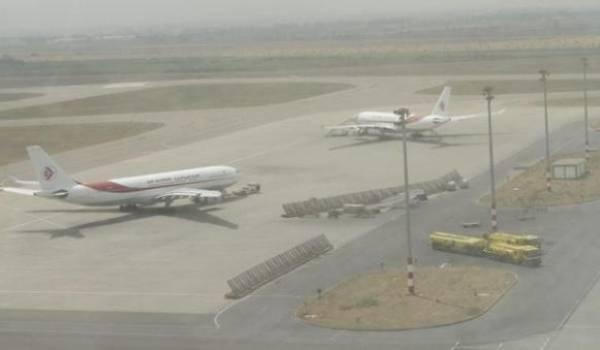 L'aéroport d'Alger paralysé par le brouillard.