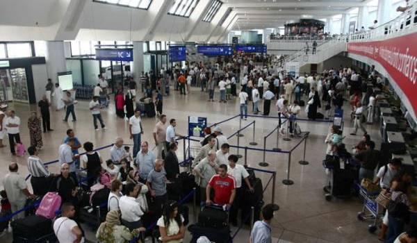 Aéroport international d'Alger.