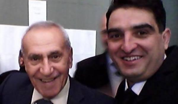 Amor Cherif et Bouhantala Adel du conseil de l'ordre des avocats de Batna.