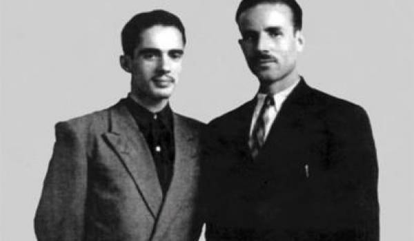 Bennaï Ouali et Amar Aït Hamouda, couverture de l'ouvrage d'Ali Yahia Abdenour.