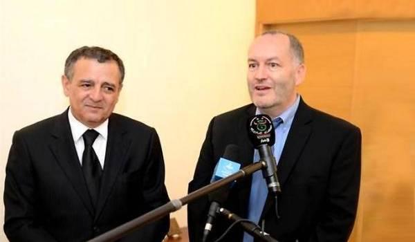 M. Jean-François Dauphin en compagnie de Bouchouareb en juillet 2016.