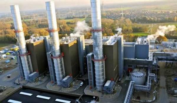 Centrale électrique en Algérie.