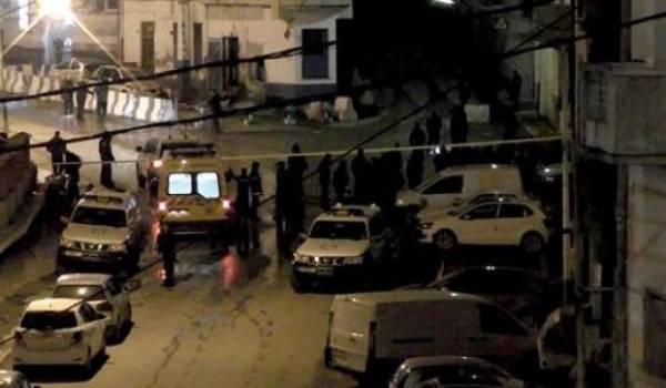 Le soir de l'attentat à Constantine.