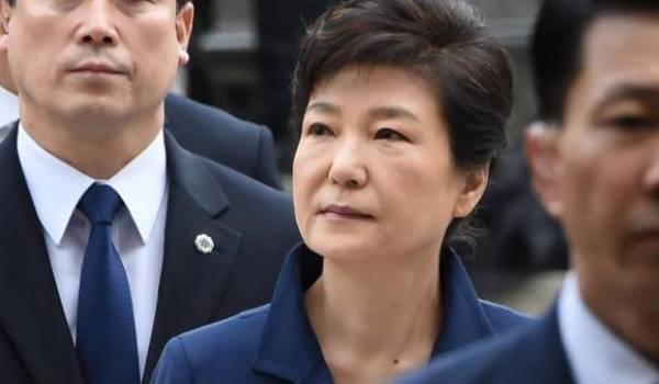 ex-présidente sud-coréenne Park Geun-hye