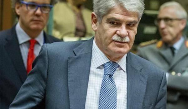 Alfonso Dastis, le ministre des Affaires étrangères espagnol