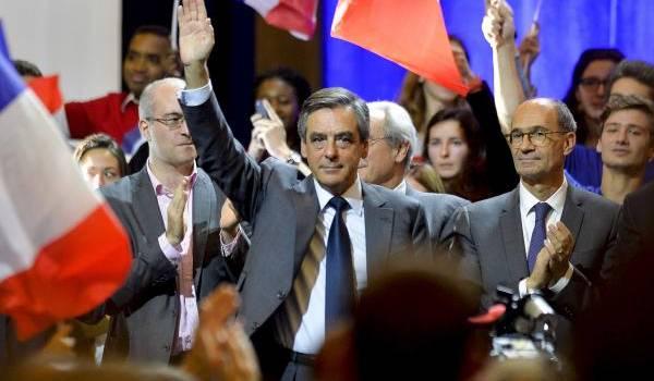 """""""Imaginez De Gaulle mis en examen"""", clamait Fillon en direction de Sarkozy. Le voilà à la veille d'une mise en examen.Crédit photo François Navarro."""