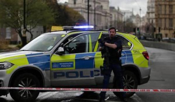 Le centre de Londres bouclé après l'attaque.