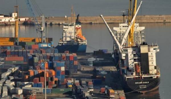 Le port d'Alger.