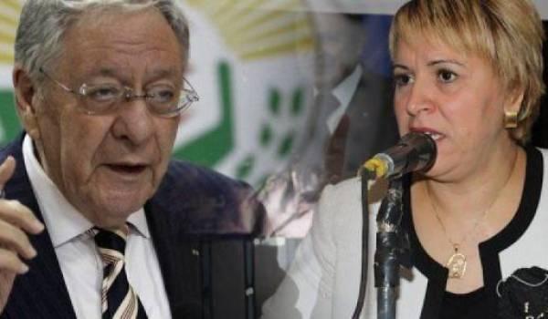 Ould Abbes et Salima othmani.