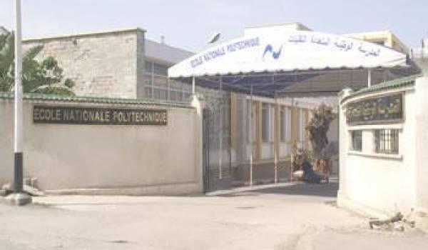 Les étudiants de l'Ecole nationale polytechnique en grève