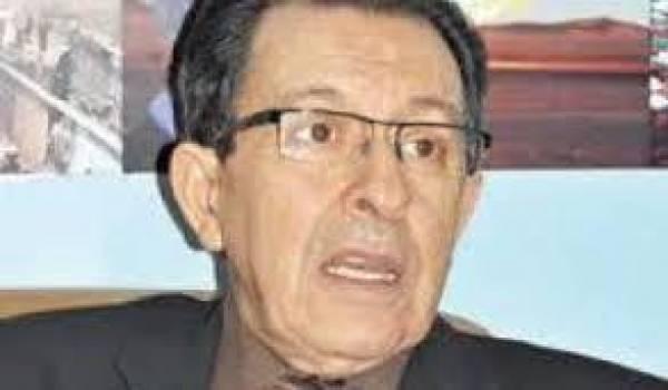 Mokdad Sifi, ancien chef de gouvernement.