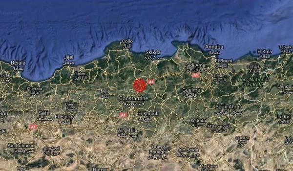 Séisme de 4,6 aux alentours de Skikda : huitième secousse dans l'Est du pays en un mois !
