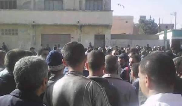 Grève et manifestations à Mahdia contre les agissements d'un officier de police (Tiaret)