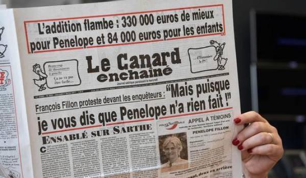 Le Canard enchaîné reçoit de nombreux courriers de menaces depuis qu'il a commencé ses révélations sur le couple Fillon.