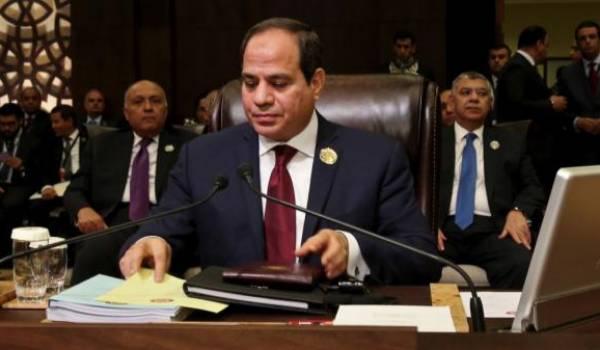 Le maréchal président Al Sissi a été reçu par le président Trump.