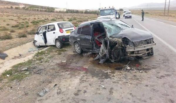 Mortel accident sur la RN 77 qui traverse la wilaya de Batna.