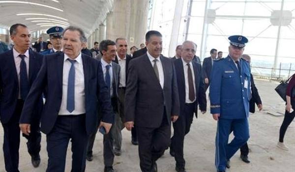 Le taux de réalisation de la nouvelle aérogare d'Alger a atteint 70%