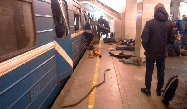 L'explosion a eu lieu dans l'un des wagons du métro.