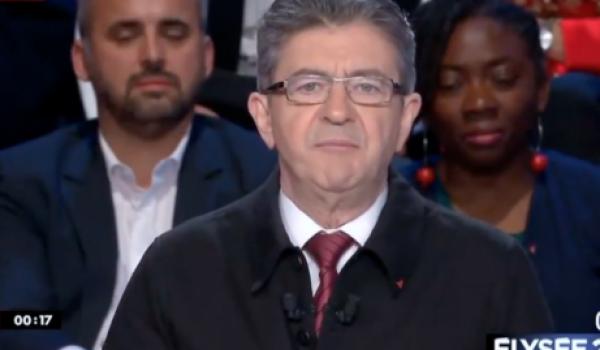 Jean-Luc Mélenchon, candidat de la France insoumise.